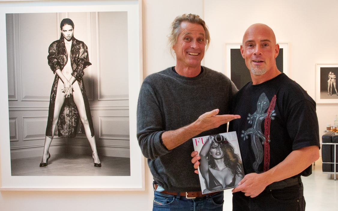 Meeting Russell James at Camera Work Gallery in Berlin for FURORE Magazine