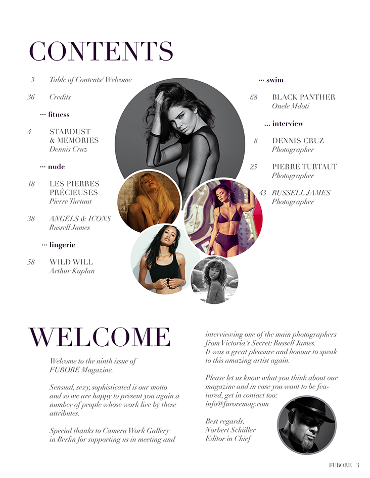 FURORE Issue 09 contents